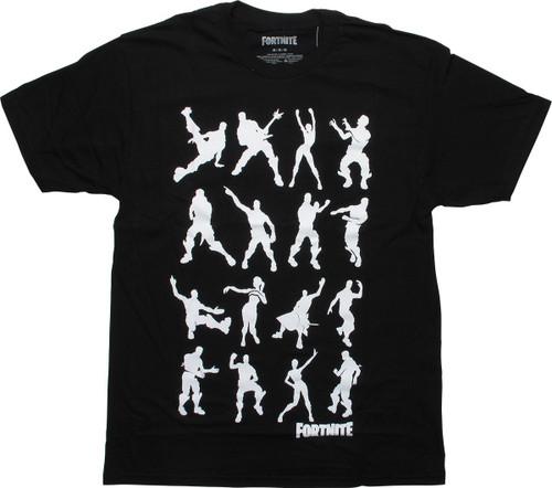 Fortnite Dance Black T-Shirt