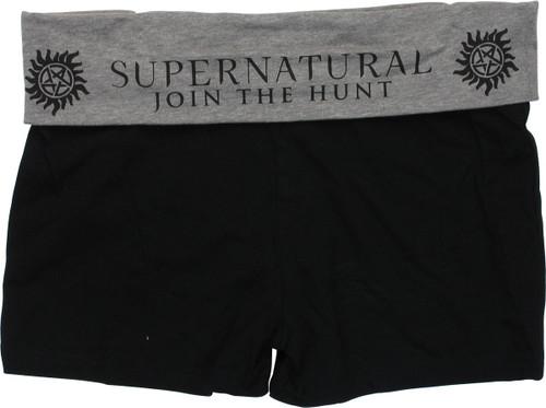 Supernatural Join the Hunt Sleep Shorts