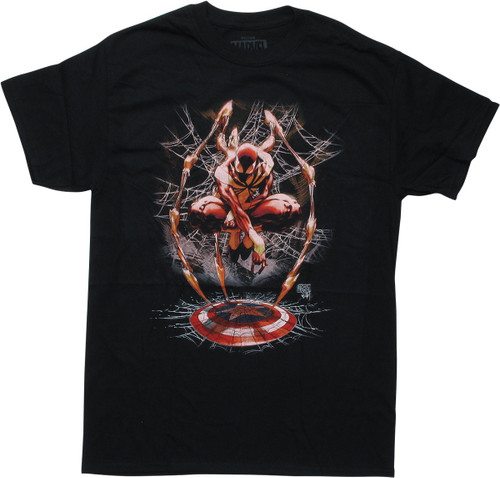 Civil War Issue 3 Turner Iron Spiderman T-Shirt