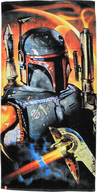 Star Wars Boba Fett Slave 1 Towel