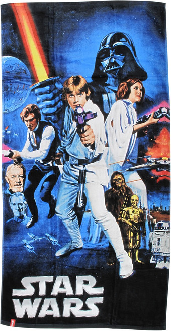 Star Wars New Hope Poster Towel