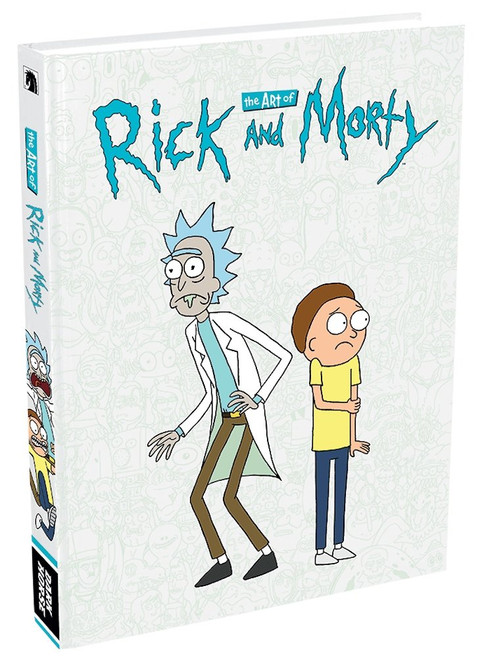 Rick and Morty Hardcover Art Book