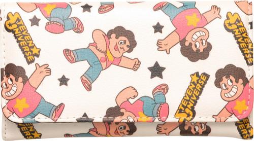 Steven Universe Poses Snap Clutch Wallet