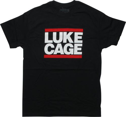 Luke Cage Name Black T-Shirt