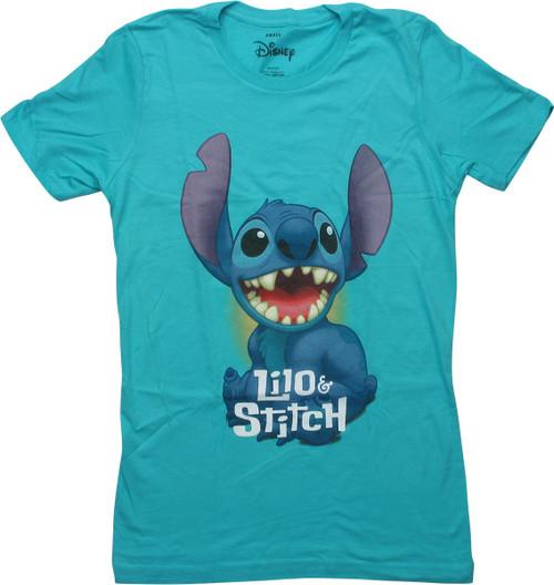 Lilo and Stitch Happy Stitch Juniors T-Shirt
