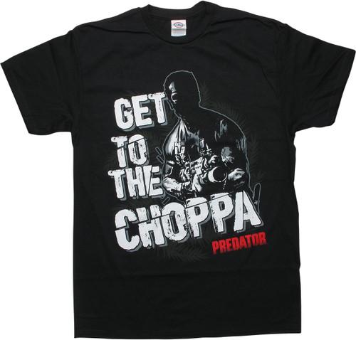Predator Dutch Get to the Choppa Black T-Shirt