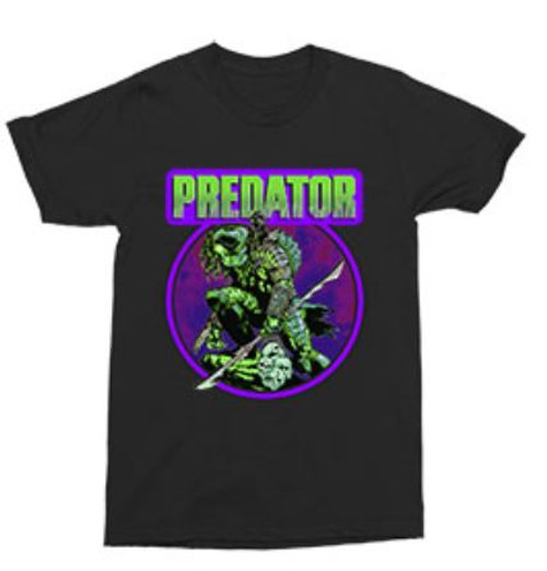 Predator Big Game 2 Comic Cover Inspired T-Shirt