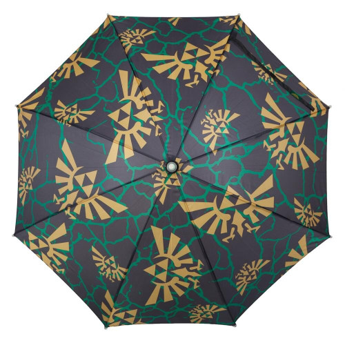 Zelda Logo Allover Print LED Lighted Umbrella