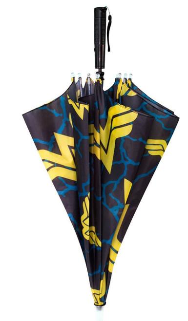 Wonder Woman Logo Allover Print LED Light Umbrella