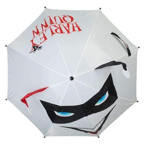 Harley Quinn 3D Face White Umbrella