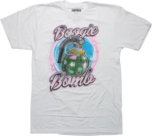 Fortnite Boogie Bomb Grenade White T-Shirt