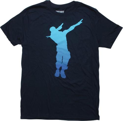 Fortnite Dab Dance Emote Navy Blue T-Shirt