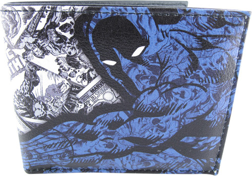 Black Panther BW Comic Covers Bi-Fold Wallet