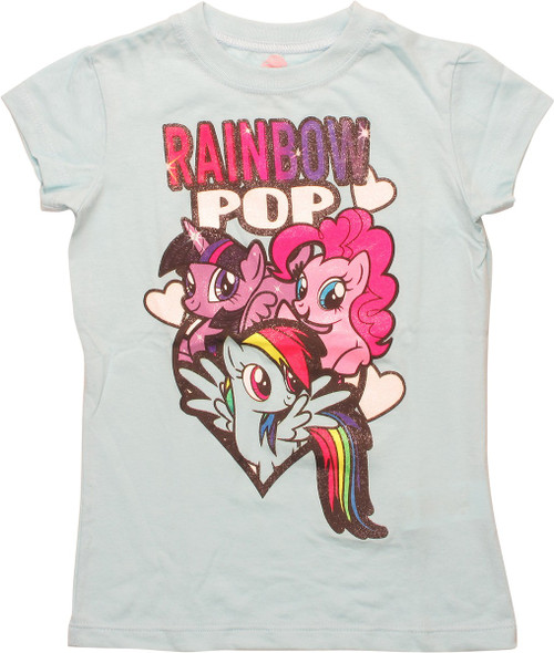 My Little Pony Rainbow Pop Girls Juvenile T-Shirt