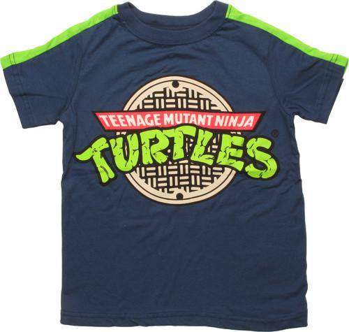 Ninja Turtles Sewer Cover Title Juvenile T-Shirt