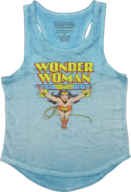 Wonder Woman Soar Tank Top Ladies Tee