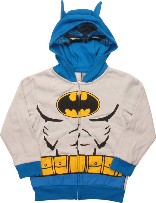 Batman Costume Toddler Hoodie