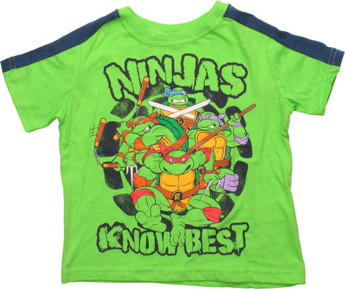 Ninja Turtles Ninjas Know Best Toddler T-Shirt