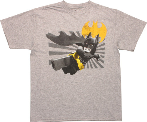 Batman Lego Jump Kick Youth T-Shirt