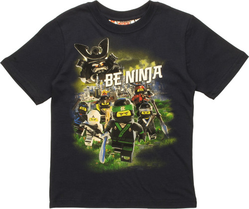 Lego Ninjago Movie Be Ninja Juvenile T-Shirt