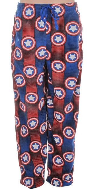 Captain America Stripes Fleece Pants