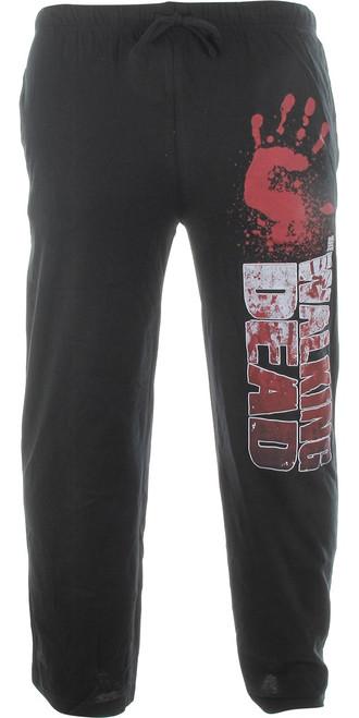 Walking Dead Bloody Hand Lounge Pants