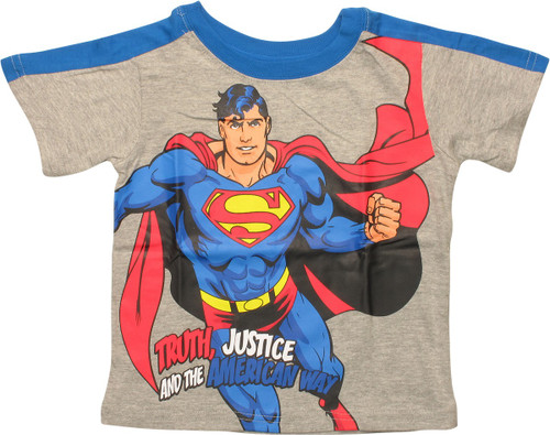 Superman The American Way Toddler T-Shirt