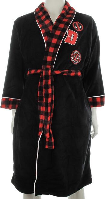 Deadpool Patch Fleece Robe
