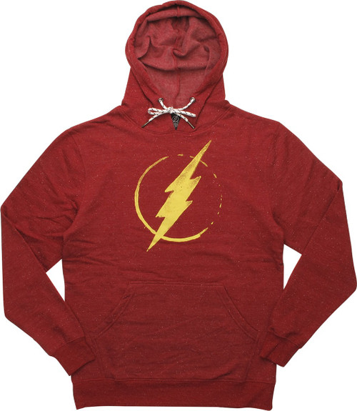 Flash Splatter Distressed Logo Hoodie