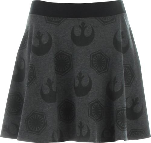 Star Wars Rebel and First Order Skater Skirt