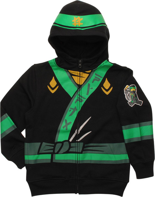 Lego Ninjago Movie Lloyd Zip Juvenile Hoodie