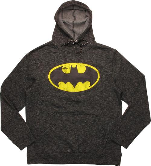 Batman Distressed Classic Logo Hoodie