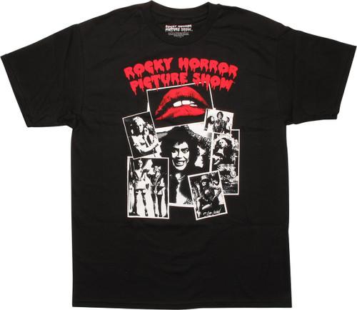 Rocky Horror Snapshot Gallery T-Shirt