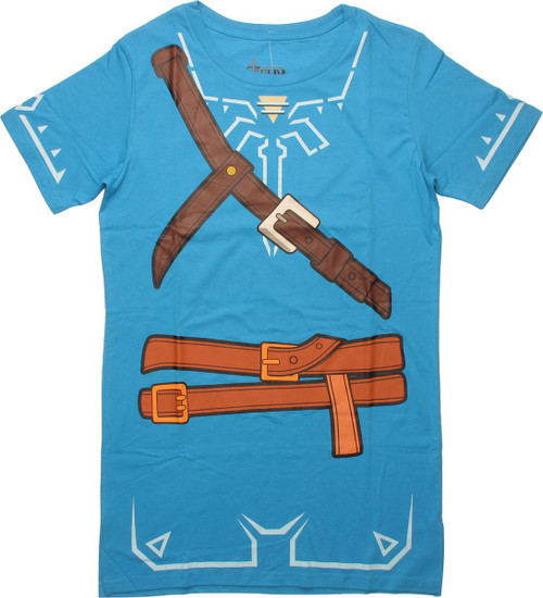 Zelda Link Breath of the Wild Costume Tunic Dress
