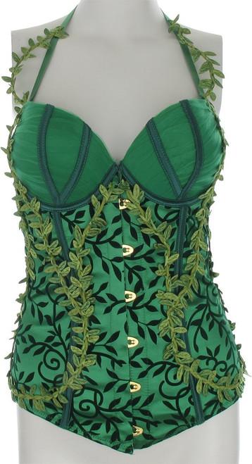 Poison Ivy Vines Costume Corset Lingerie