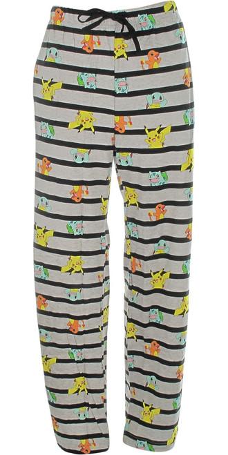 Pokemon Pikachu and Classic Starters Lounge Pants
