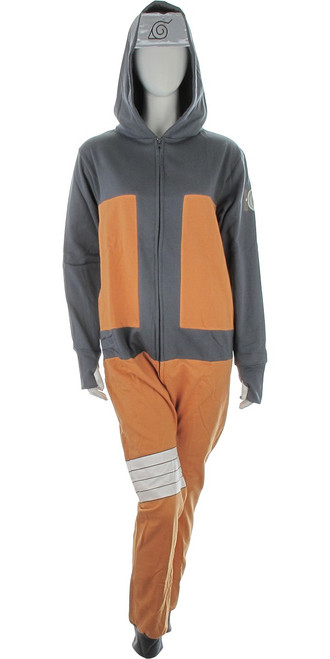 Naruto Shippuden Hooded Costume Union Suit