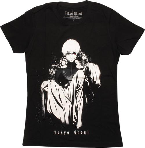 Tokyo Ghoul Ken Kaneki Art Juniors T-Shirt