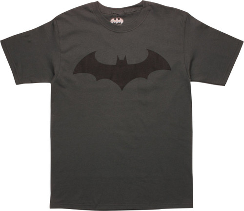 Batman Hush Logo Charcoal T-Shirt