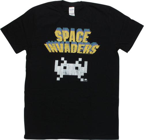 Atari Space Invaders Lone Alien Invader T-Shirt