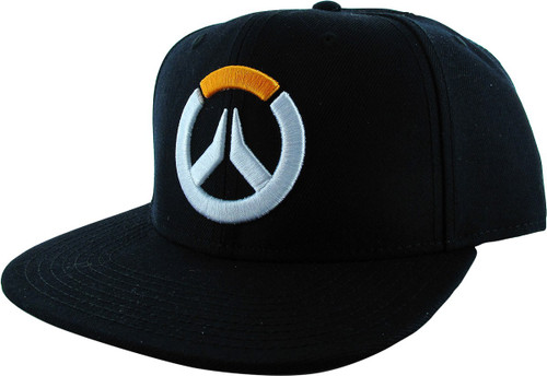 Overwatch Embroidered Logo Bioworld Snapback Hat