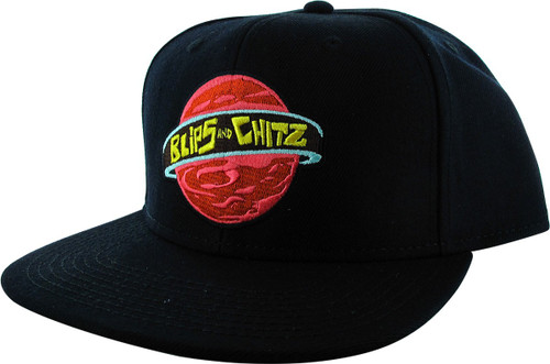 Rick and Morty Blips and Chitz Logo Snapback Hat