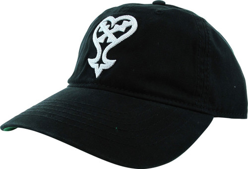 Kingdom Hearts Heartless Logo Buckle Hat
