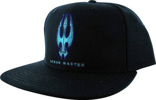 Aquaman Movie Ocean Master Logo Snapback Hat