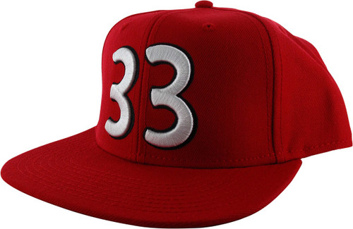 Hey Arnold Gerald 33 Red Snapback Hat