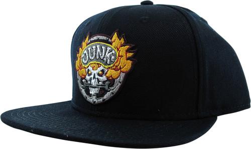 Overwatch Junkrat Junk Black Snapback Hat