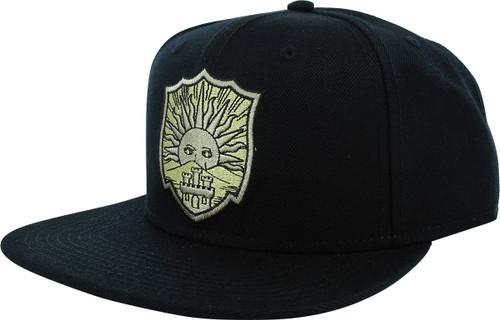 Black Clover Golden Dawn Crest Snapback Hat