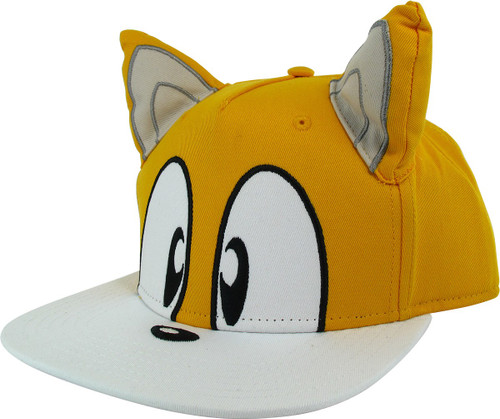 Sonic the Hedgehog Tails Face Snapback Hat