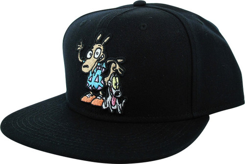 Rockos Modern Life Rocko and Spunky Snapback Hat