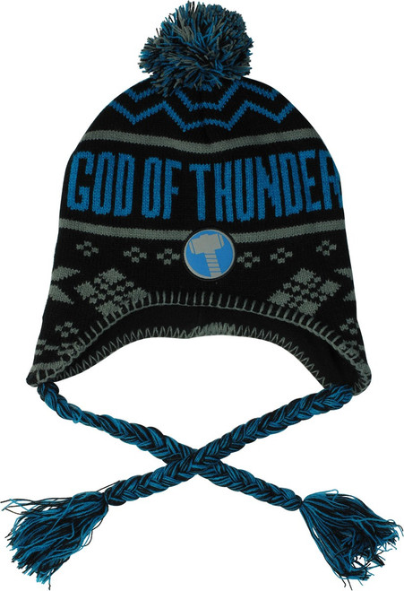 Thor God of Thunder Laplander Beanie